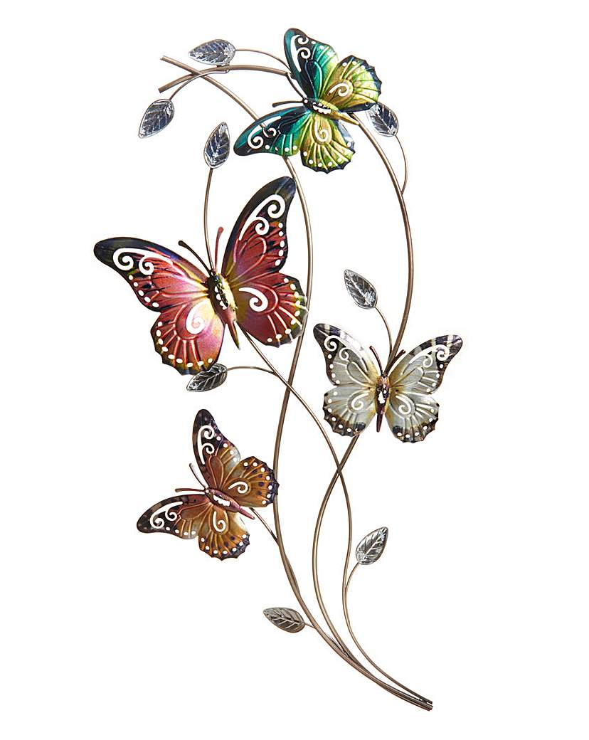 Bright Butterfly Wall Art
