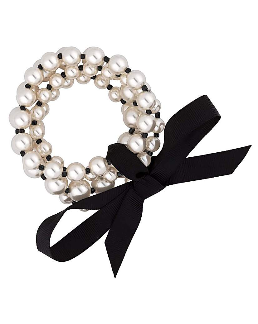 Image of Jon Richard pearl bracelet set