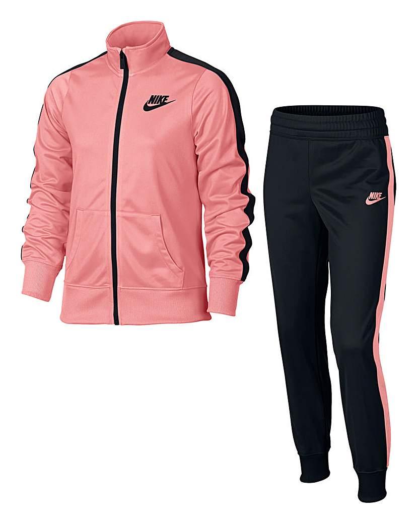 Nike Older Girls Fleece Tracksuit