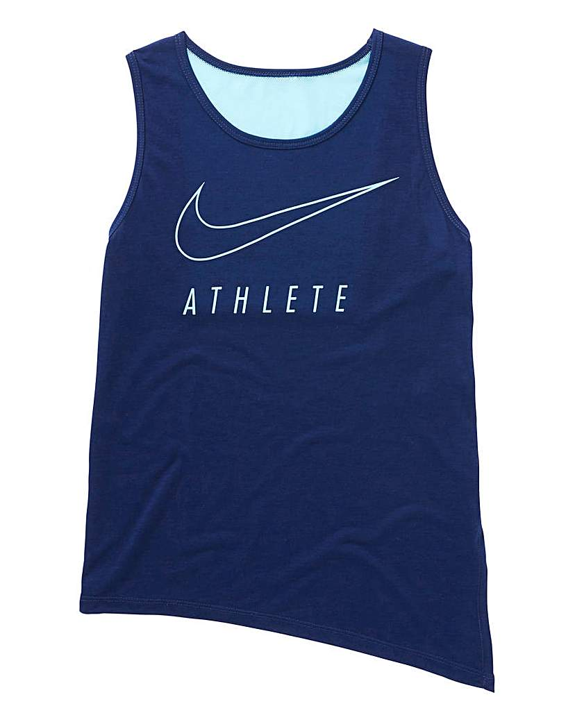 Image of Nike Older Girls Dry Fit Athletic Tank T