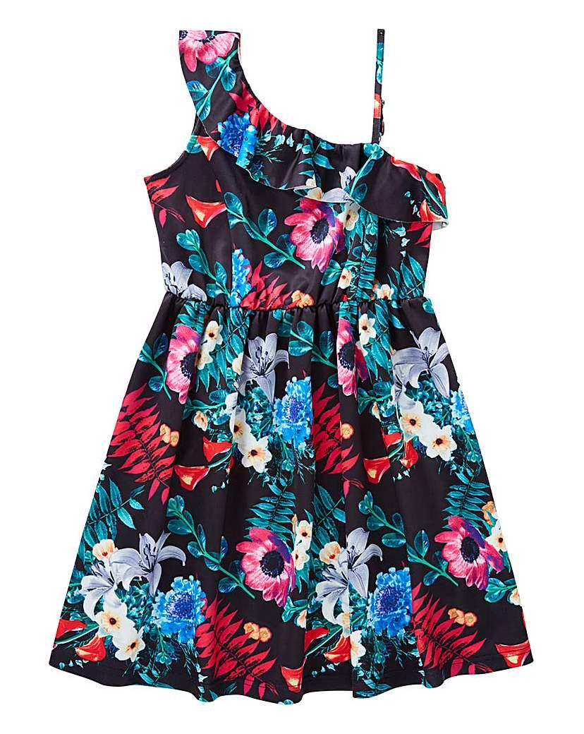 Image of KD Girls One Shoulder Swing Dress