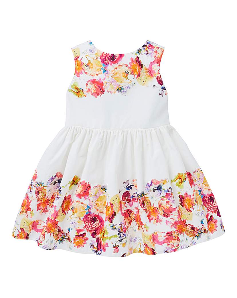 KD Baby Floral Border Summer Dress