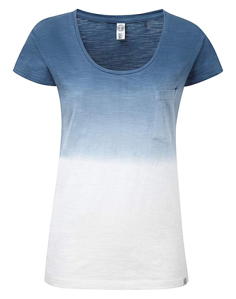 Tog24 Estella Womens Dip Dye T-Shirt