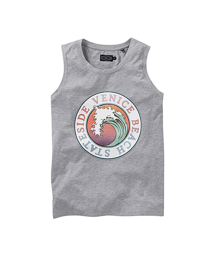 Label J Retro Summer Vest Long.
