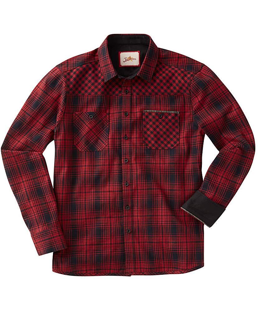 Joe Browns Wild At Heart Check Shirt Reg.