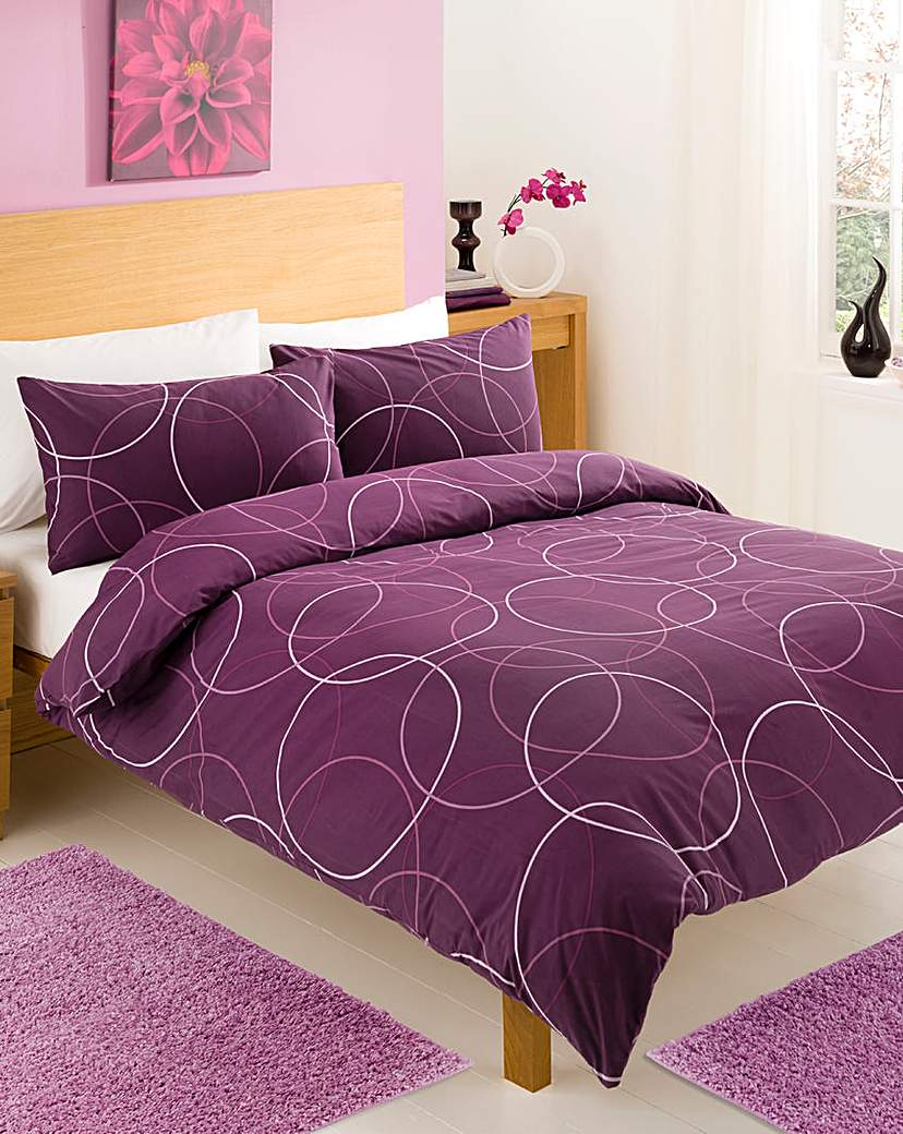 Image of Circles Twin Pack Duvet Cover Set