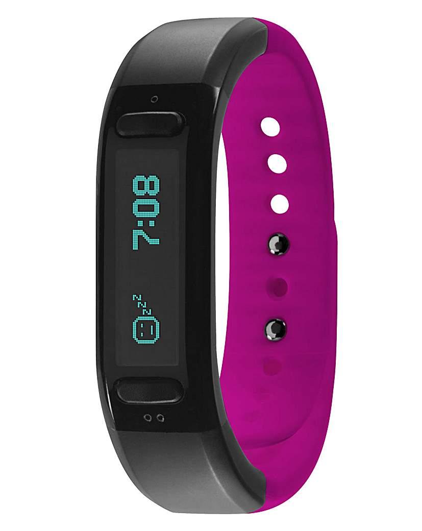 Soleus Go Pink Fitness Band Bluetooth