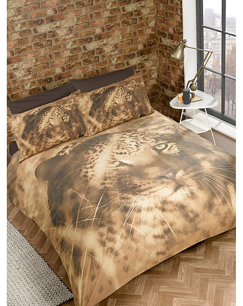 Image of Cascade home Big Cat Duvet Set
