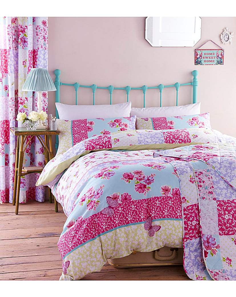 Image of Gypsy Patchwork Bedspread