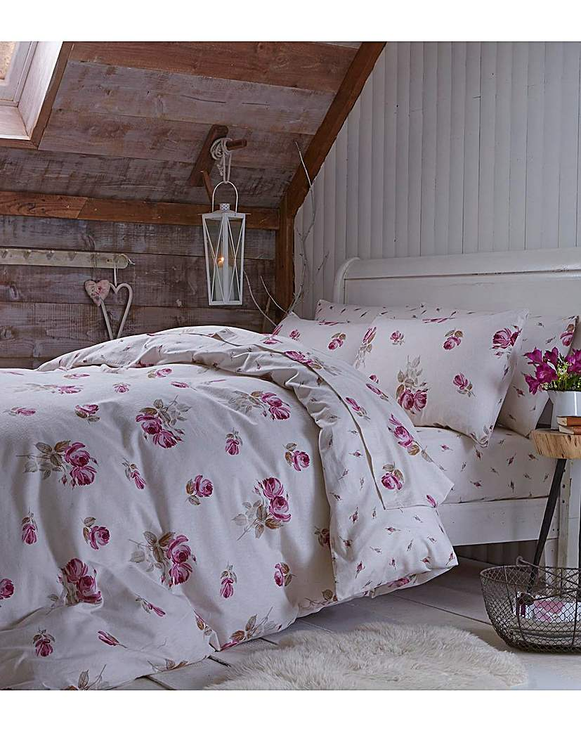 Image of Catherine Lansfield Floral Fitted Sheet