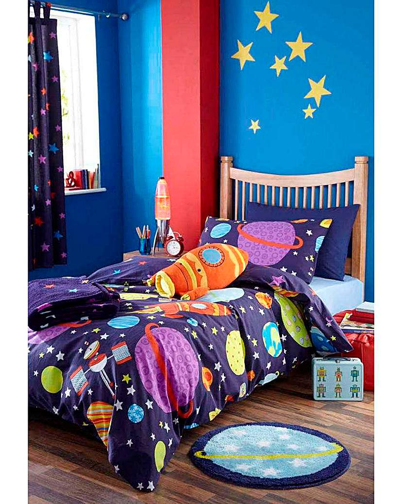 Image of Outer Space Throw