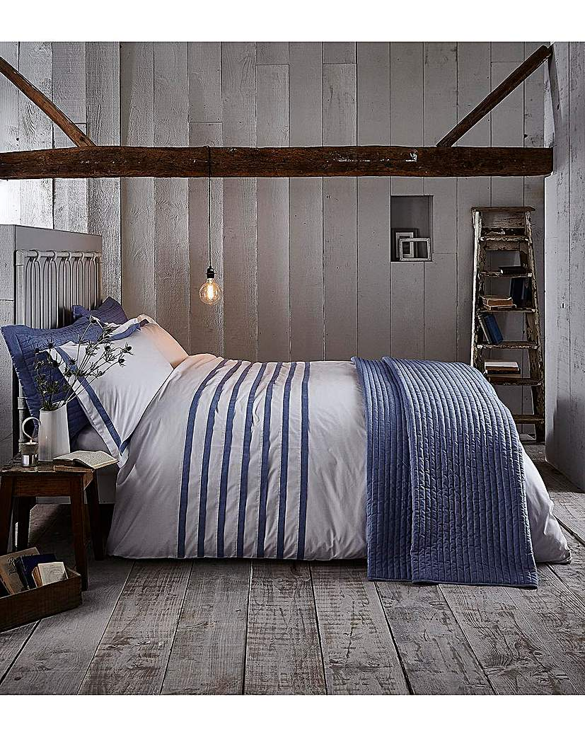 Image of BCS Chambray Pleats Duvet Set
