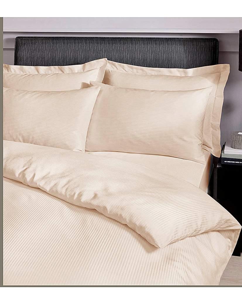 Satin Stripe Oxford Pillowcase.