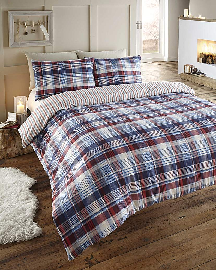 Image of Cozy Nites Angus Flan Duvet Set