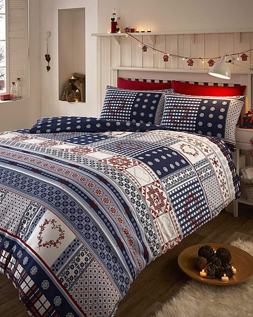 Image of Cozy Nites Nordic Flannelette Duvet Set