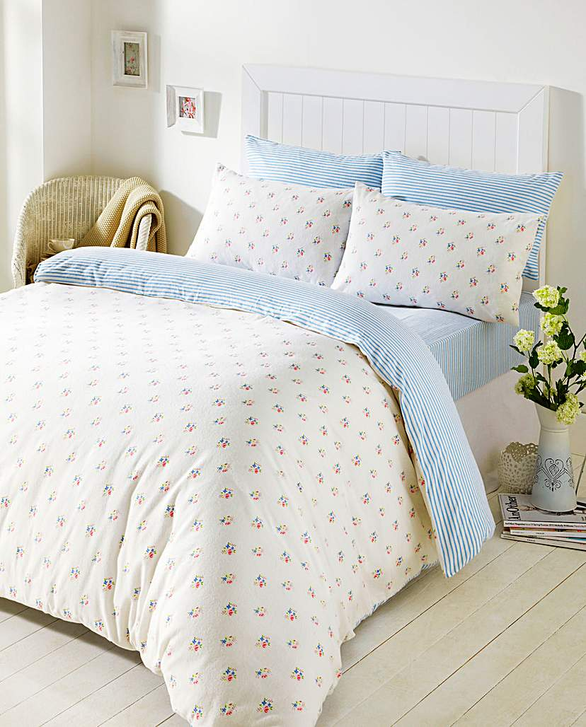 Image of Cozy Nites Molly Flannelette Duvet Set