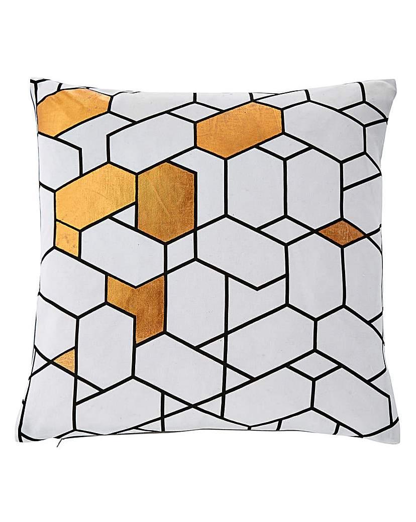 Linden Tiles Cushion.