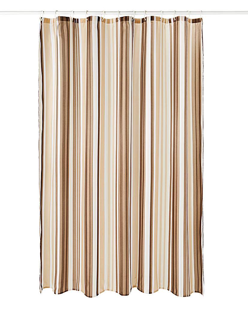 Oslo Stripes Shower Curtain