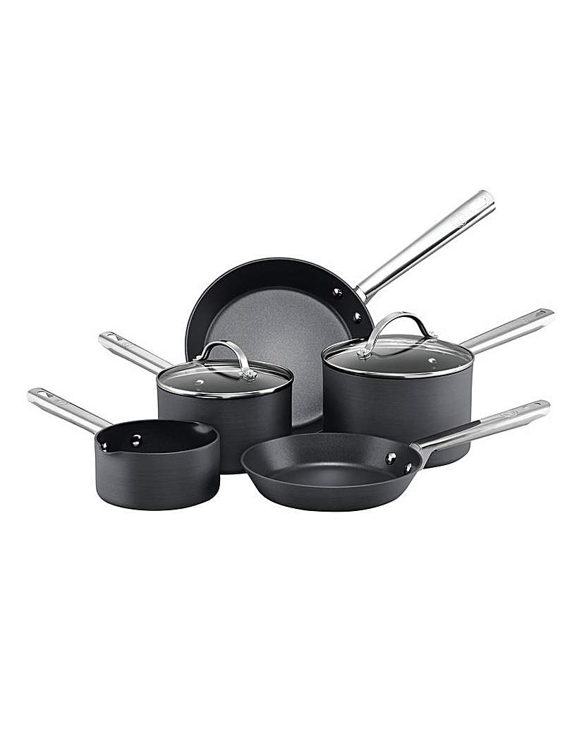 Anolon Hard Anodized 5 Piece Pan Set
