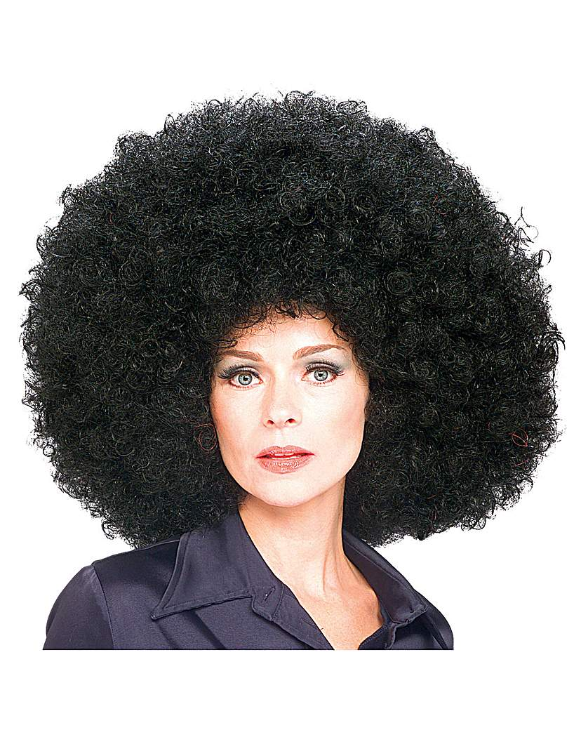 Image of 70's Black Afro Wig