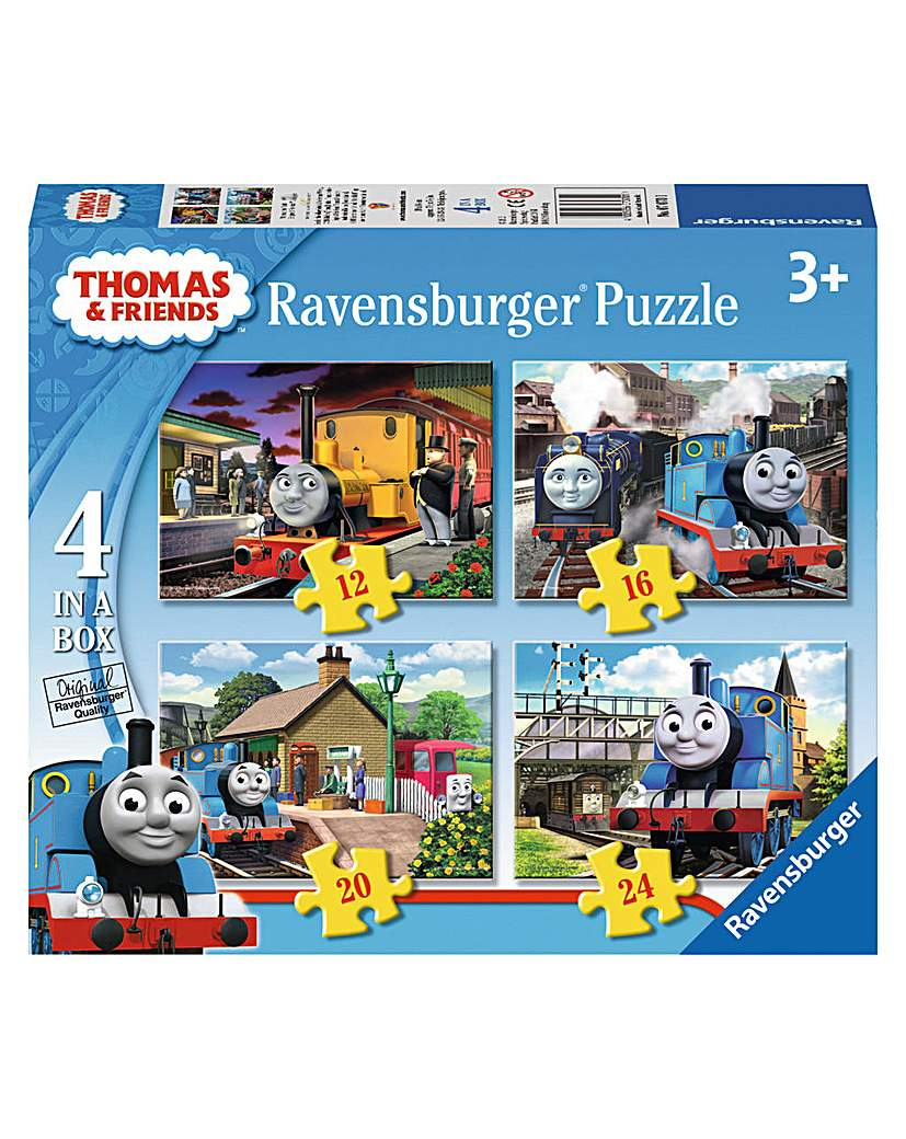 Thomas & Friends 4 in Box Jigsaw Puzzle