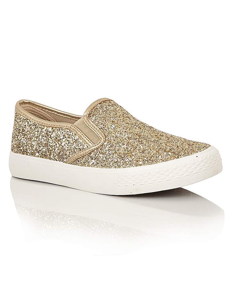 Women's Footwear Dolcis Millie slip on plimsolls