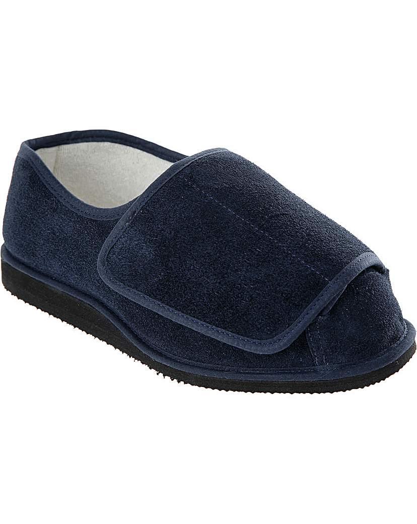 Nightwear Rowan Suede Slippers 5E+ Width