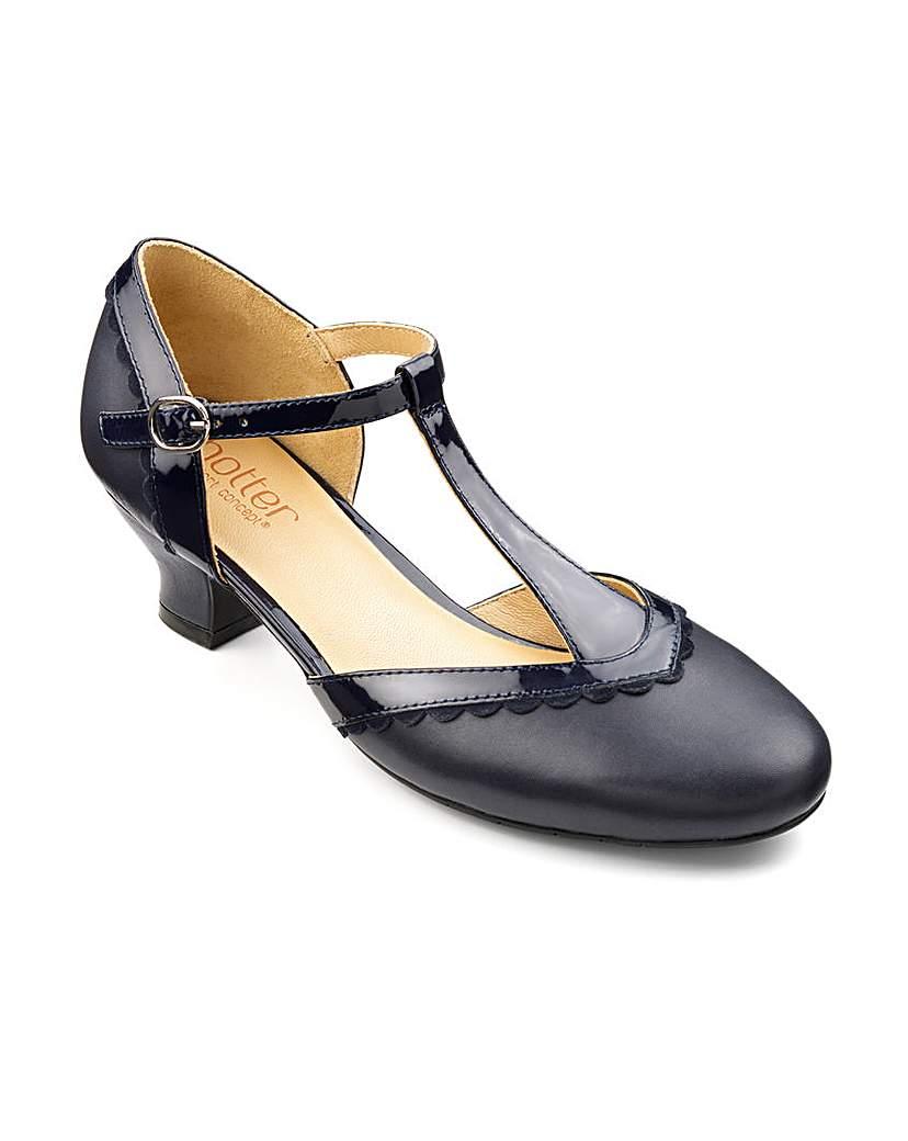 Hotter Viviene T Bar Shoe