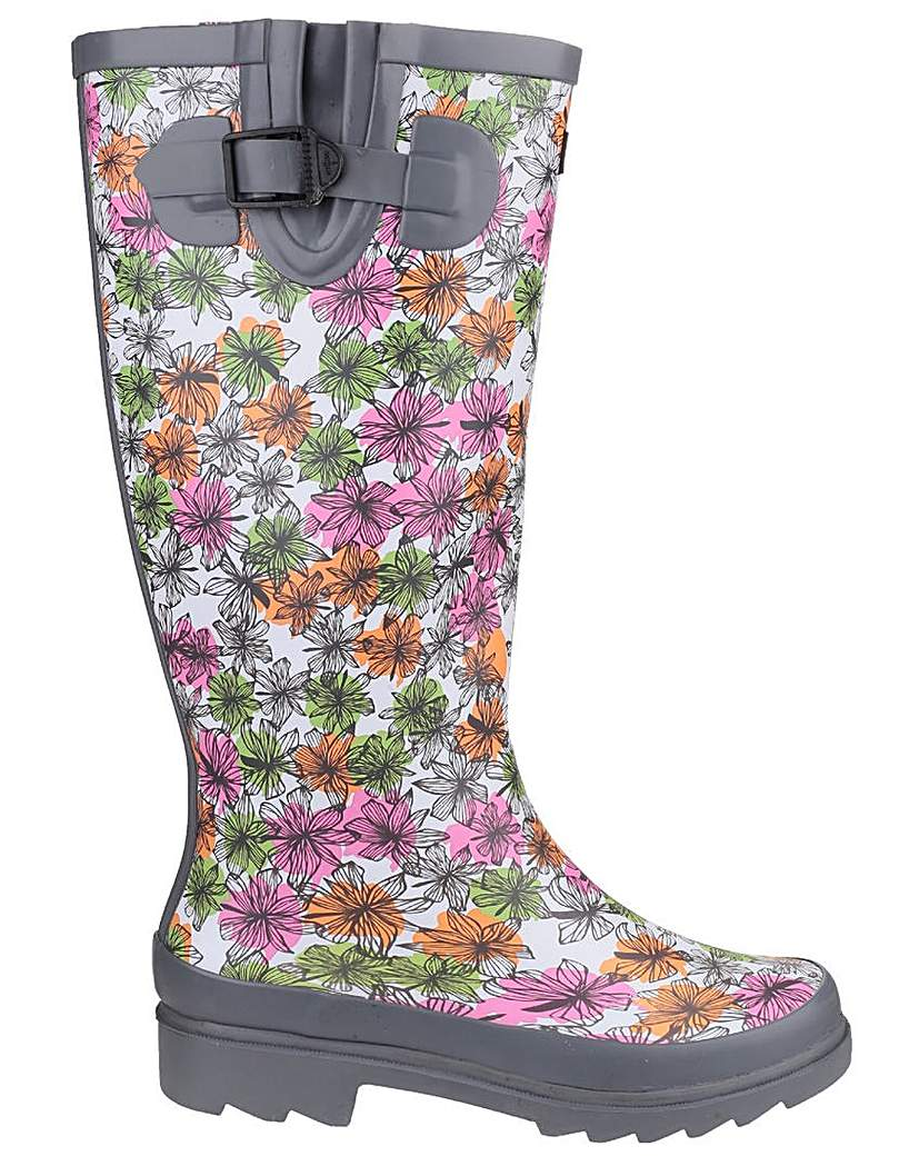 Image of Cotswold Flower Power Wellington Boot