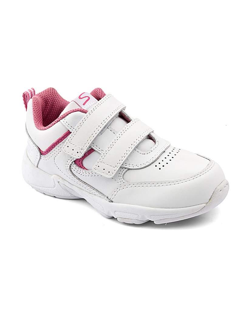 Children's Footwear Start-rite Meteor White/Pink Fit G