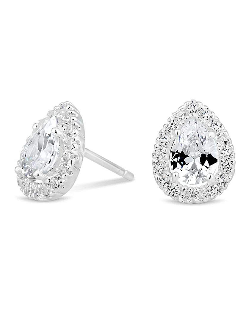 Image of Simply Silver cluster stud earring