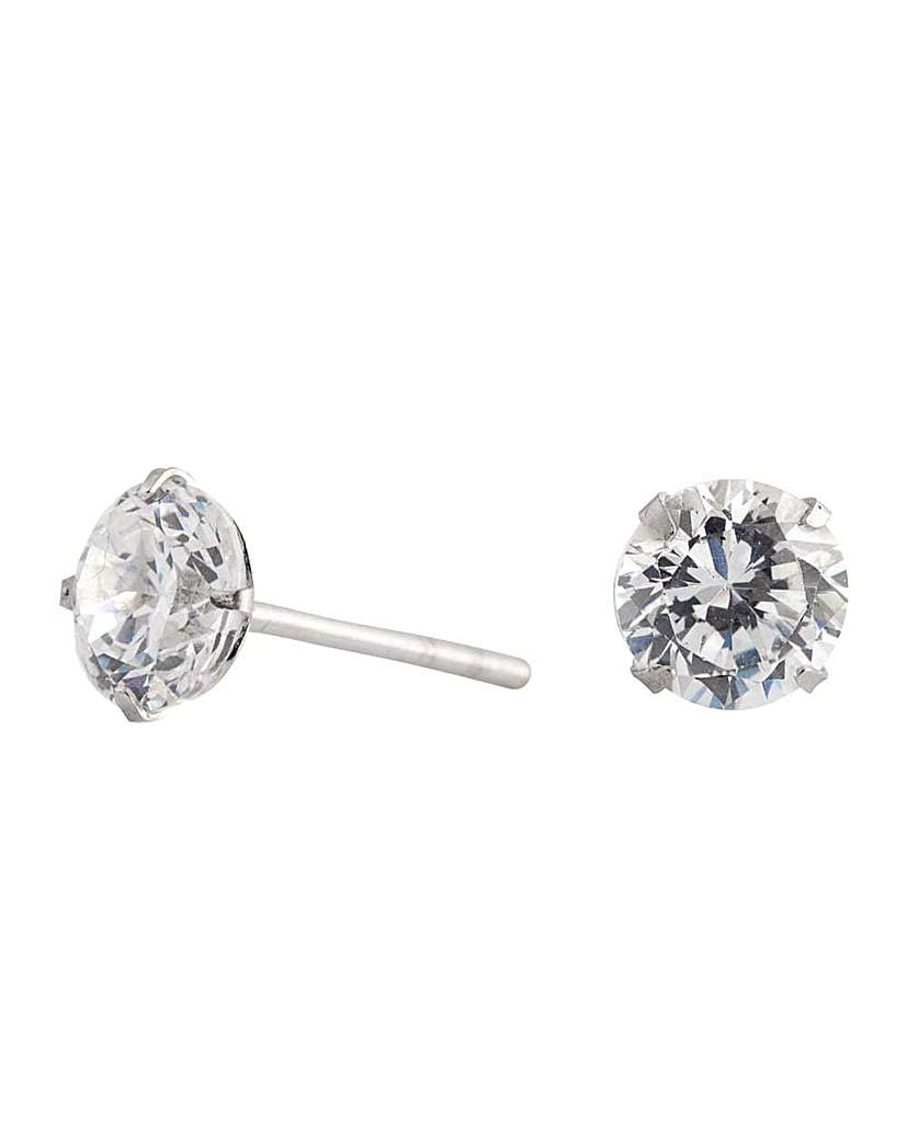 Image of Simply Silver stud earring