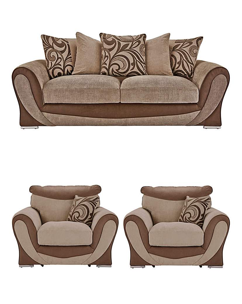 Image of Renata Three Seater plus Two Chairs