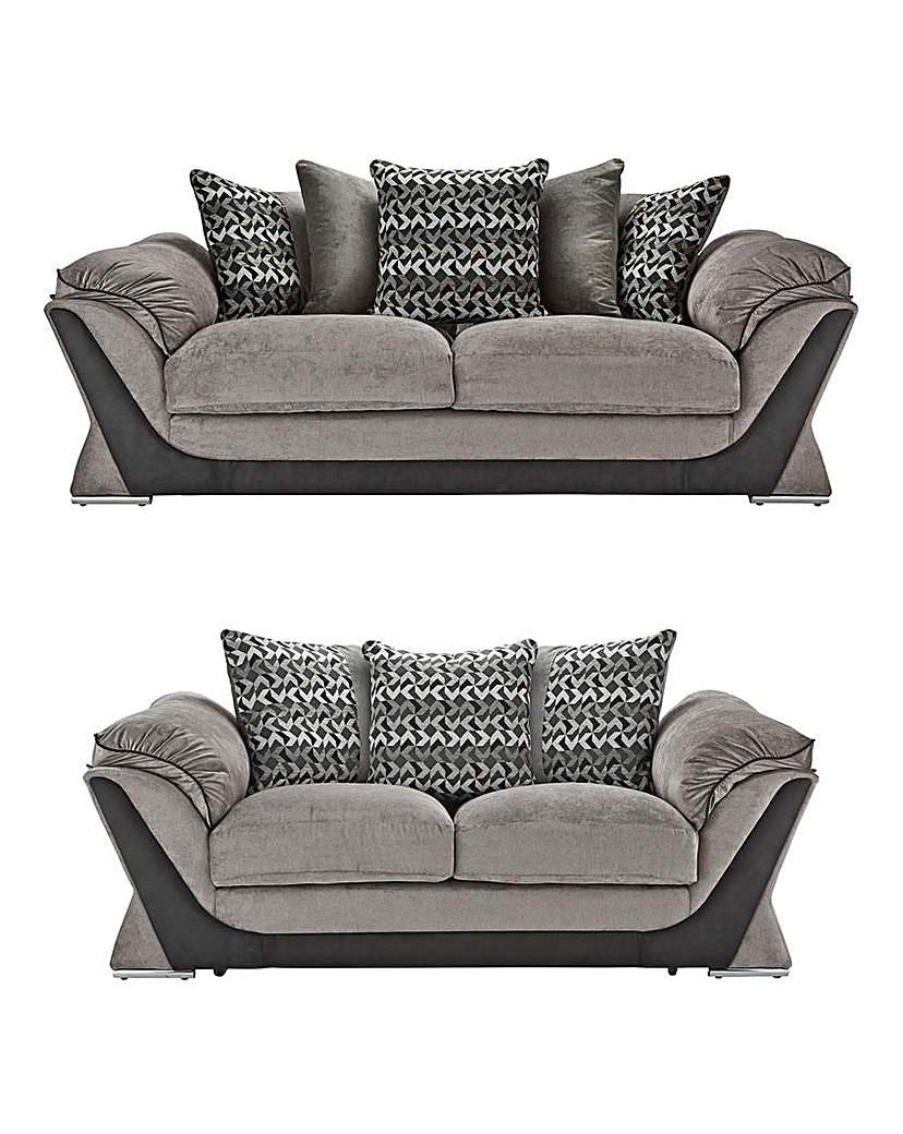 Image of Oregon Three plus Two Seater Sofa