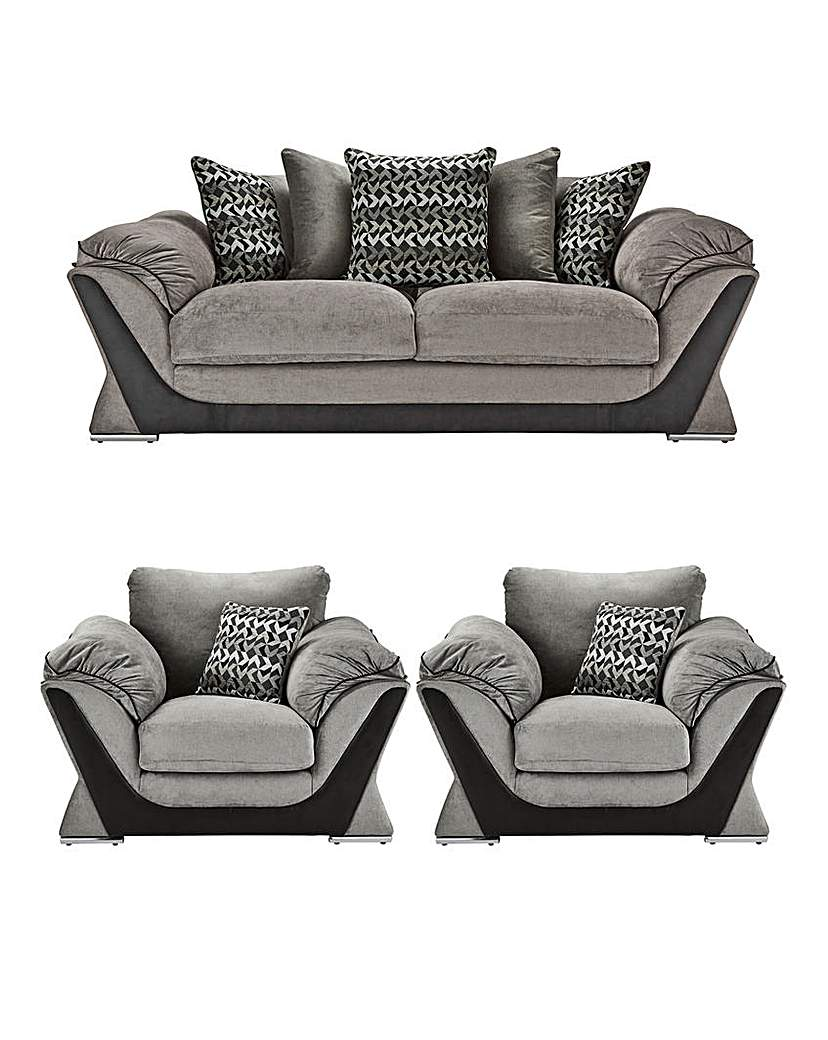Image of Oregon Three Seater Sofa plus Two Chairs