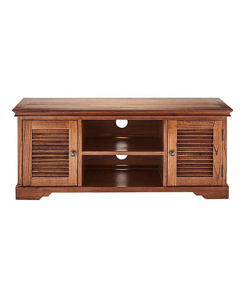 Colonial Wide TV Unit