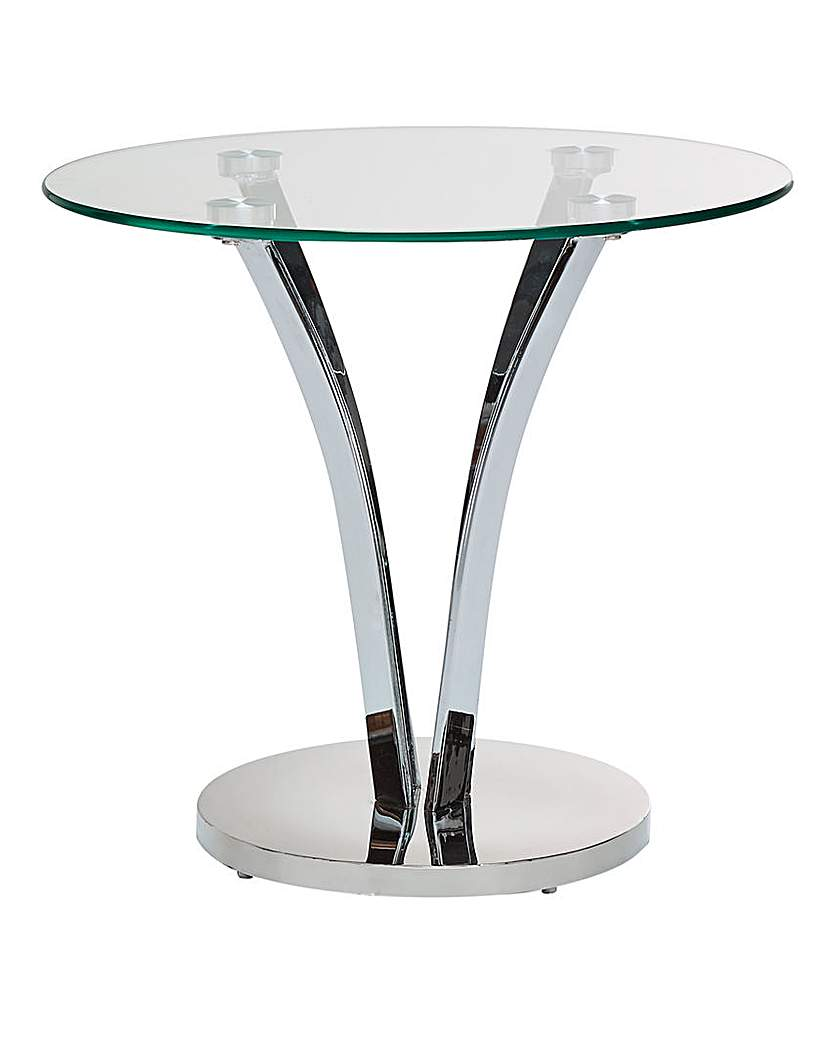 Buy cheap glass side table compare tables prices for for Glass top side table