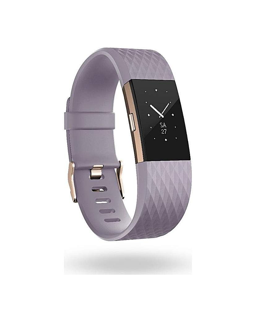 FITBIT Charge 2 Lavender Rose Gold Large