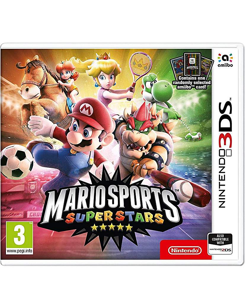 Product photo of Mario sports superstars 3ds