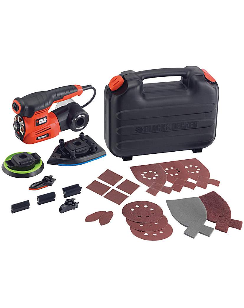Image of Auto-select 4 In 1 Multi Sander + 19acc
