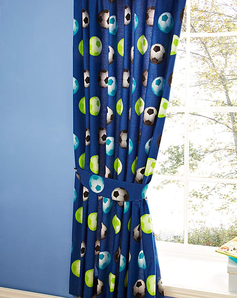 Image of It's A Goal Football Curtains