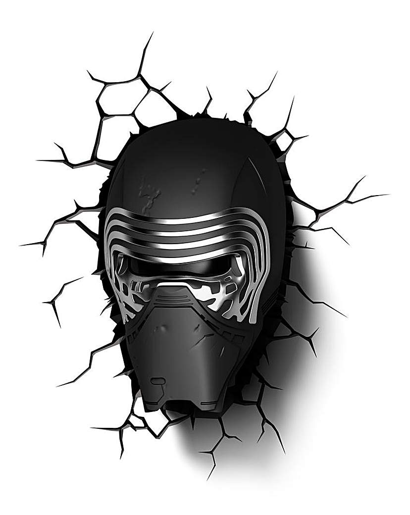 Image of Star Wars Episode 7 Lead Villan 3D Deco