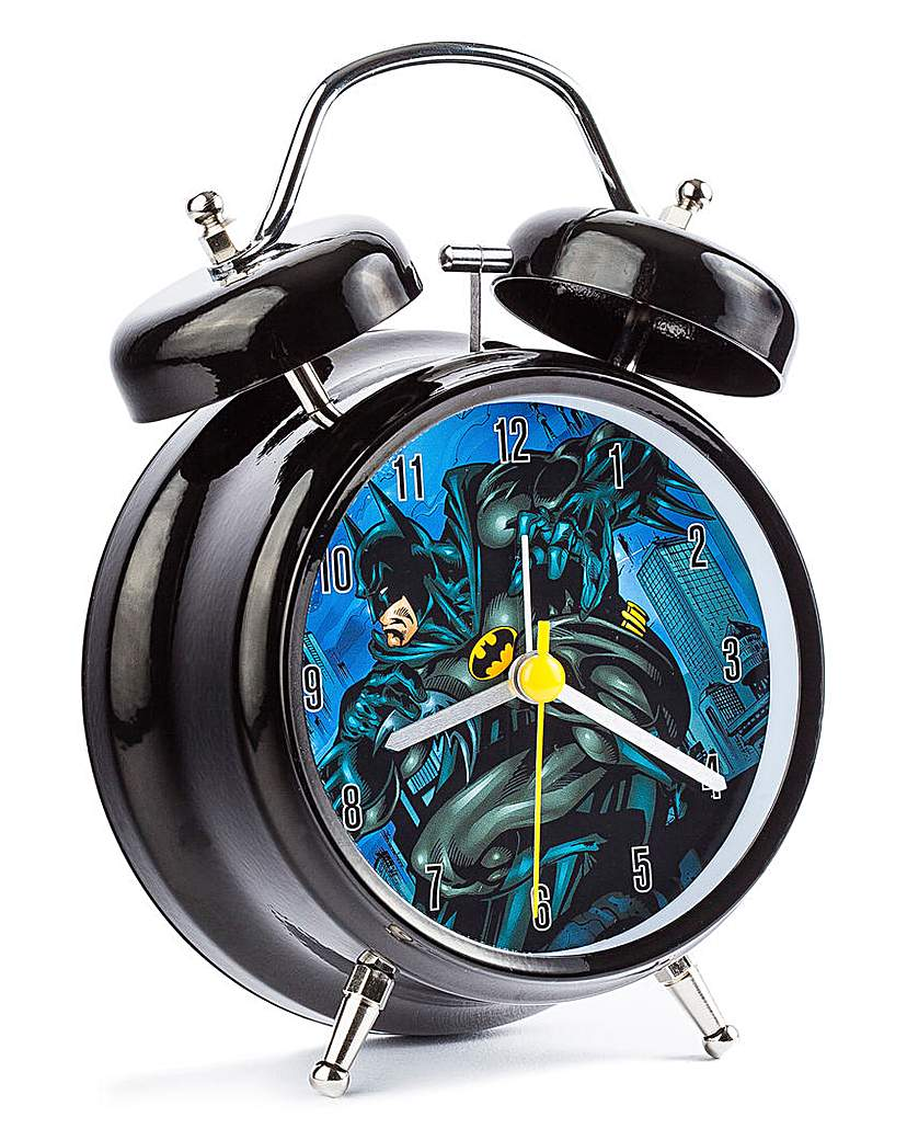 Image of Batman Large Twin Bell Alarm Clock