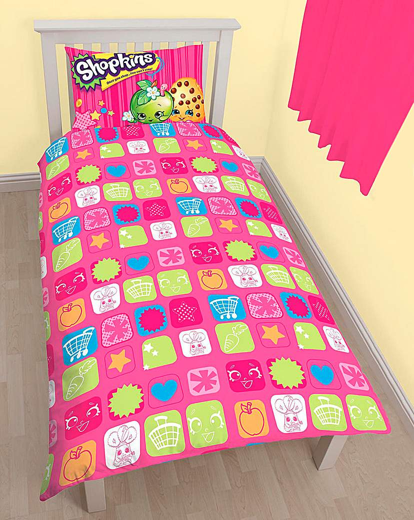 Image of Shopkins Duvet Cover Set Personalised
