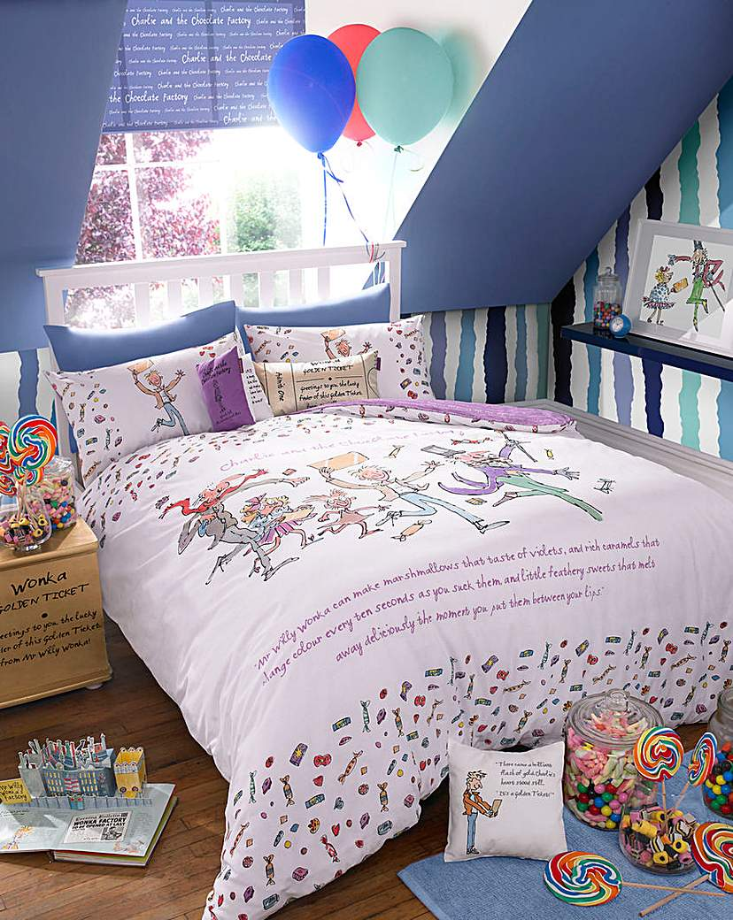 Image of Charlie and the Choc Factory Duvet Set