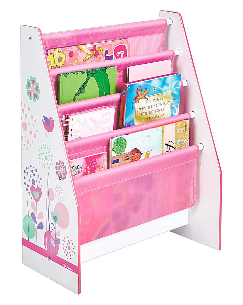 Image of Flowers and Birdies Sling Bookcase