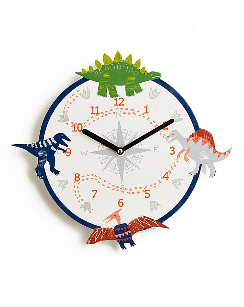 Image of Dino Compass Clock