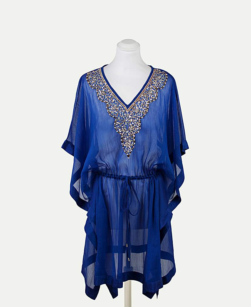 1920s Blouses History Pia Rossini Oriana Kaftan £54.00 AT vintagedancer.com