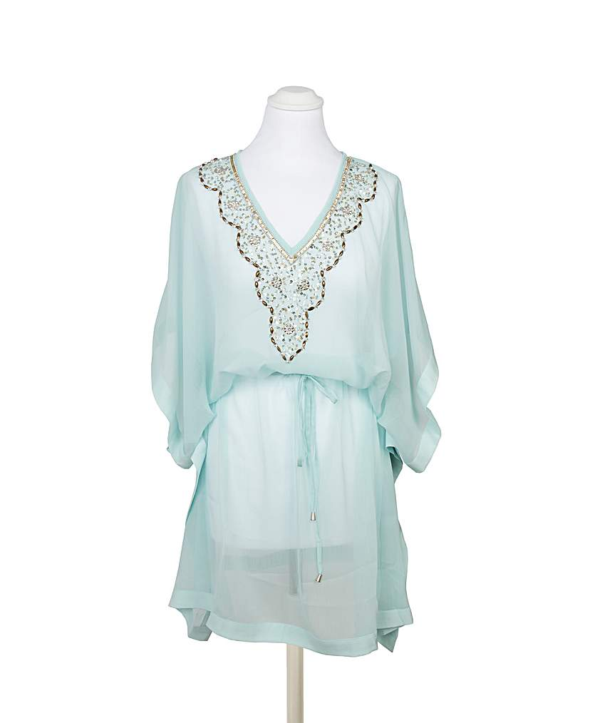 8 Easy 1920s Costumes You Can Make Pia Rossini Oriana Kaftan £54.00 AT vintagedancer.com