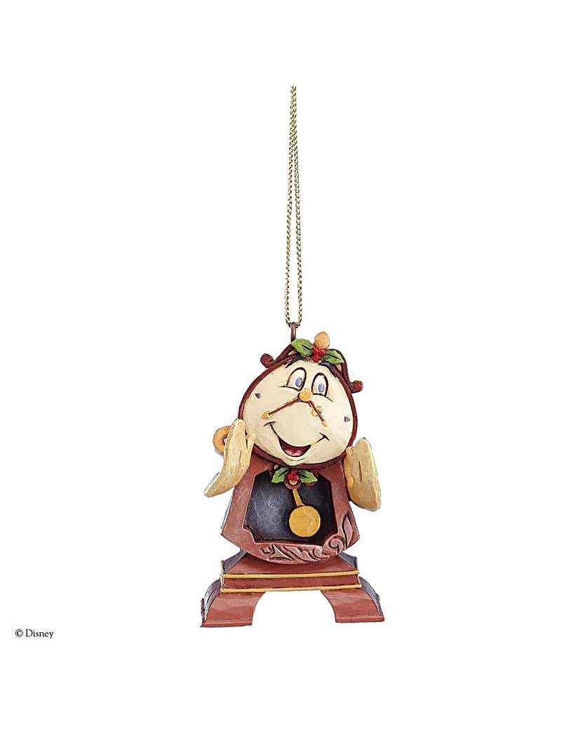 Image of Disney Cogsworth Hanging Ornament